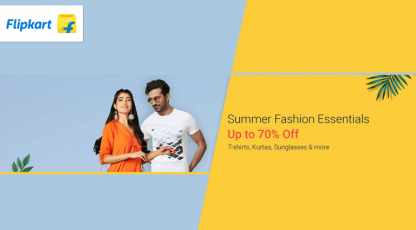 flipkart summer fashion essentials