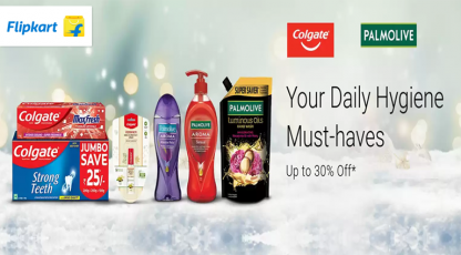 flipkart your daily hygiene must haves