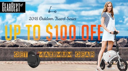 gearbest 2018 outdoor travel series