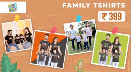giftsmate family t shirts