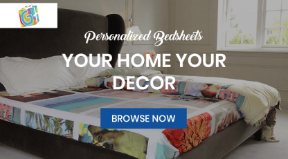giftsmate personalized bedsheet