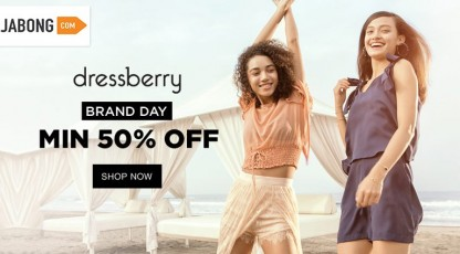 jabong dressberry brand day