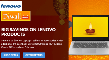 lenovo diwali offer on bestlaptops