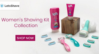letsshave womens shaving kit collection