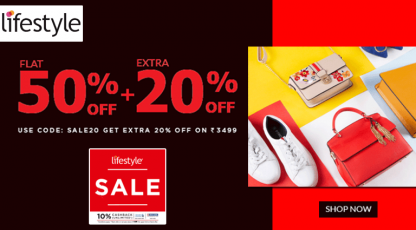 lifestyle sale on all fashion accessories