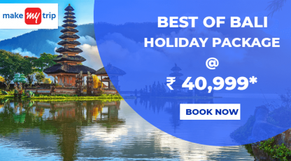 makemytrip hotels best of bali holiday package