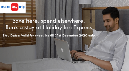makemytrip hotels book stay at holiday inn expres