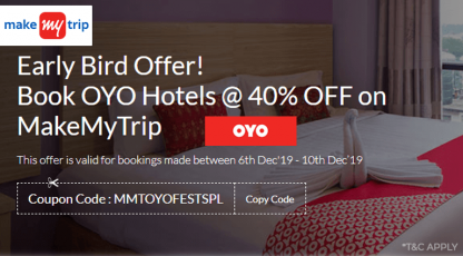 makemytrip hotels early bird offers