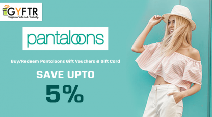 mygyftr gift vouchers for pantaloons