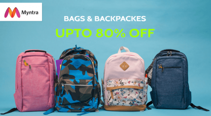 myntra bags and backspaces