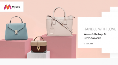 myntra handle with love