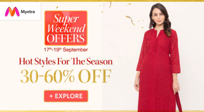 myntra hot styles for the season
