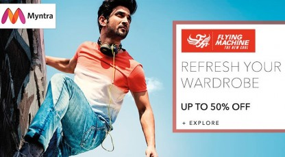 myntra refresh your wadrobe