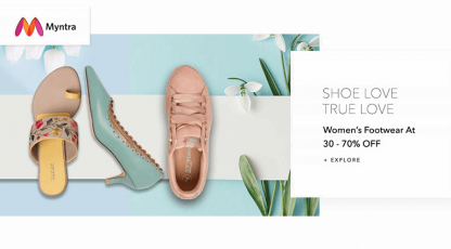 myntra shoe love true love