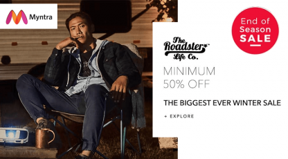 myntra the biggest ever winter sale