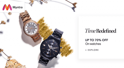 myntra time redefined