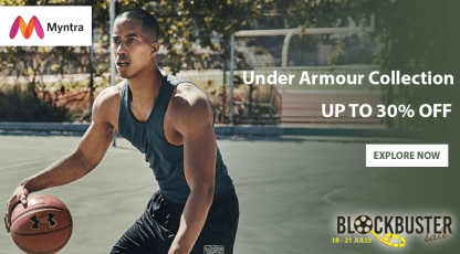 myntra under armour collection