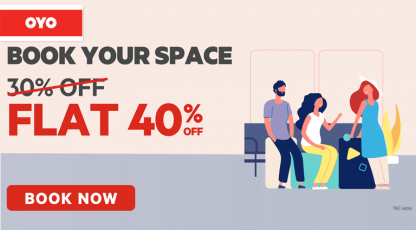 oyorooms book your space