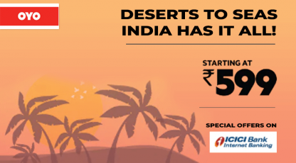oyorooms deserts to seas india has it all