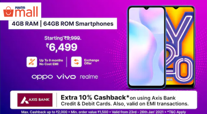 paytm mall best deal on smartphones