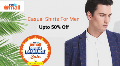paytm mall casual shirts for men