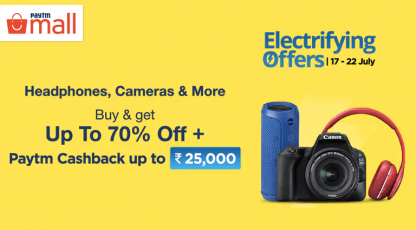 paytm mall electrifying offers