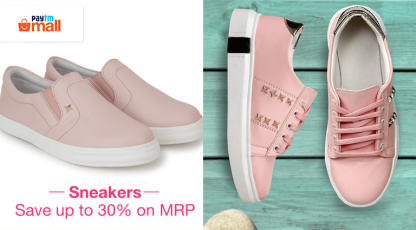 paytm mall sneakers deals
