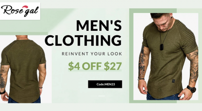 rosegalcom mens clothing collection
