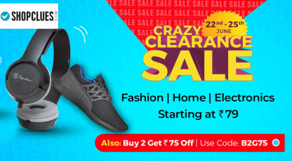 shopcluescom crazy clearance sale