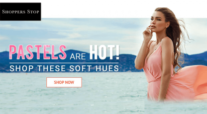 shoppersstopcom pastels are hot