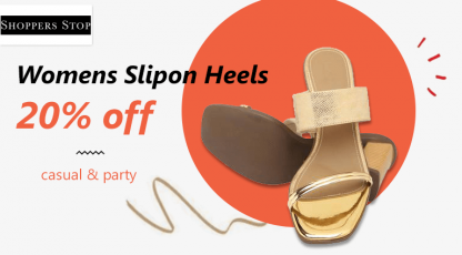 shoppersstopcom womens footwear collection
