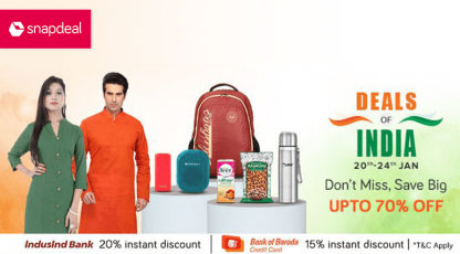 snapdeal deals of india