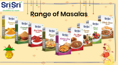 sri sri tattva range of masalas