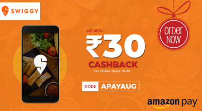 swiggy best deals with amazon pay
