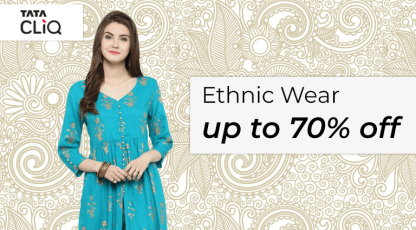 tatacliqcom ethnic wear