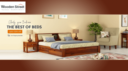 woodenstreet glorify your bedroom