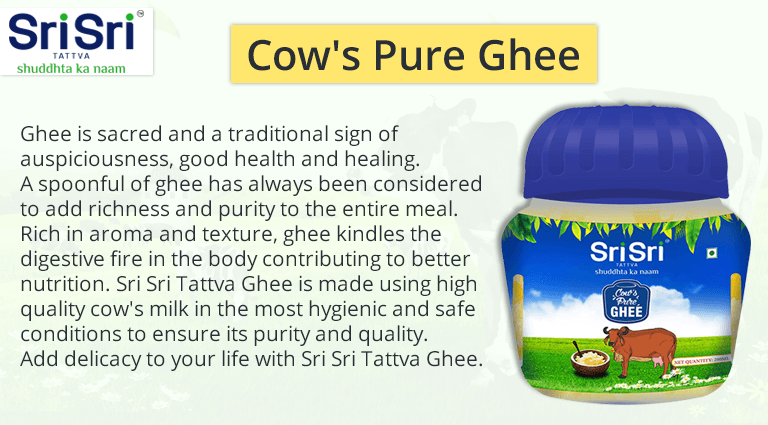 sri sri tattva cows pure ghee