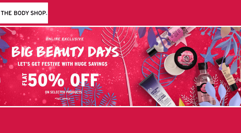 the body shop big beauty days