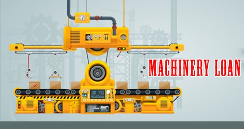 Getting a machinery loan is easy.