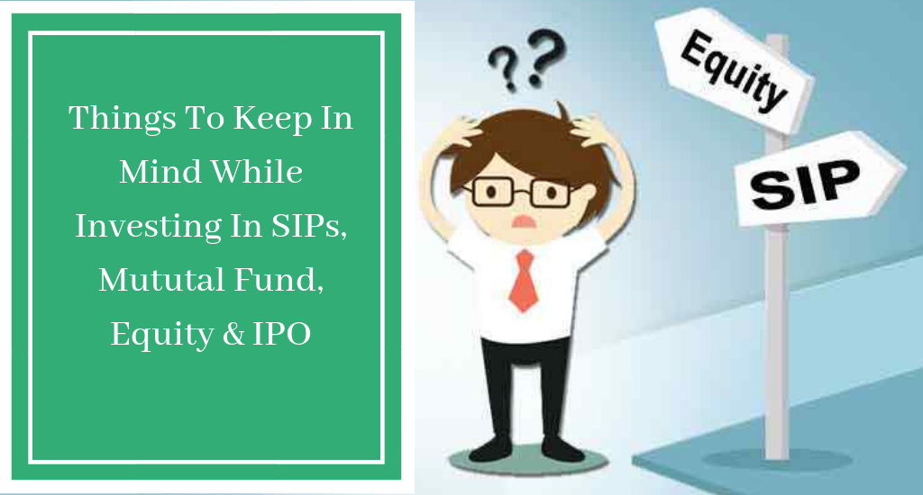 News: Why to Invest in Equity, Mutual Fund, IPO & SIPs