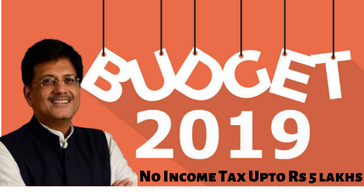 News: Budget 2019-20 LIVE: No Income Tax Up to Rs 5 lakhs