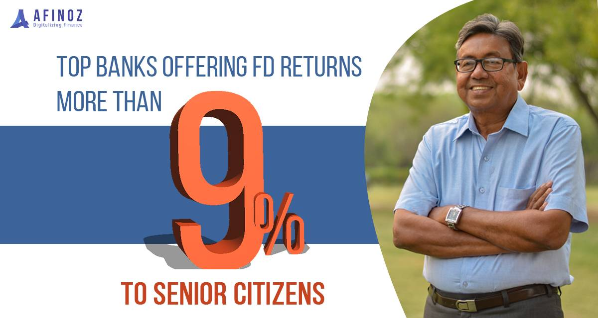 Savings:  Top banks giving interest rate on FDs for Senior Citizens - Afinoz