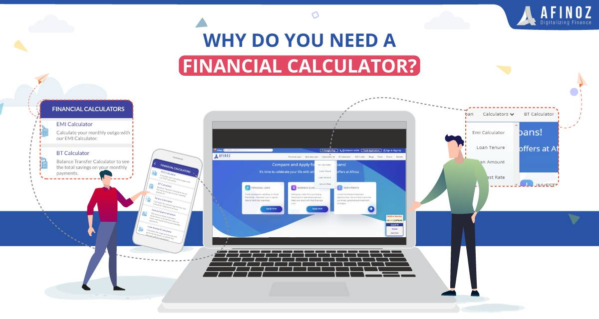 Personal Loan: Why do you Need a Financial Calculator? - Afinoz