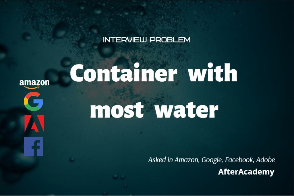 Container With Most Water