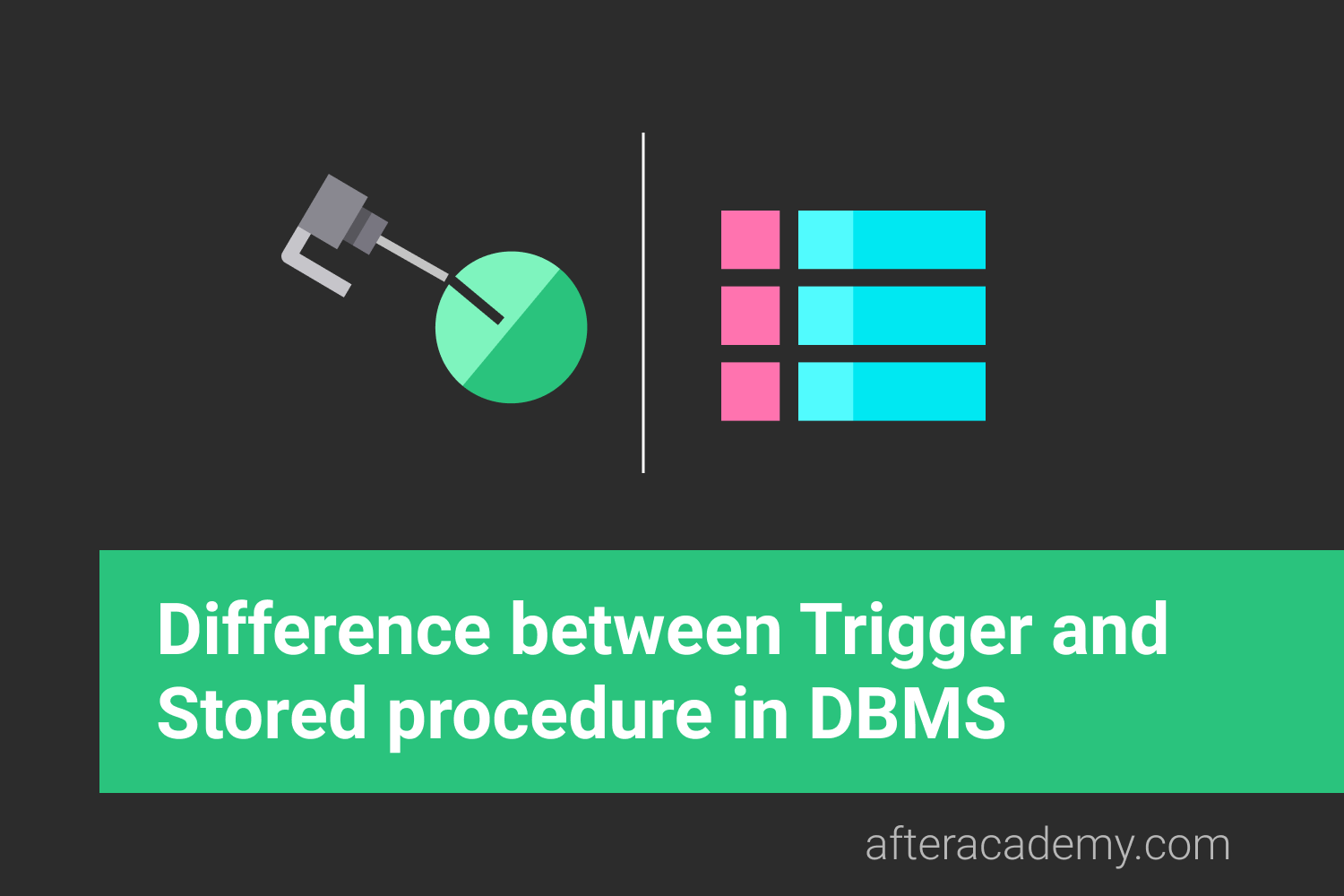 Difference between Trigger and Stored procedure in DBMS