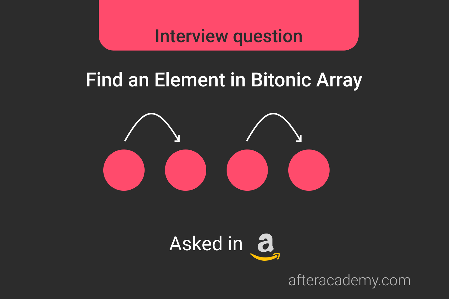 Find an Element In a Bitonic Array