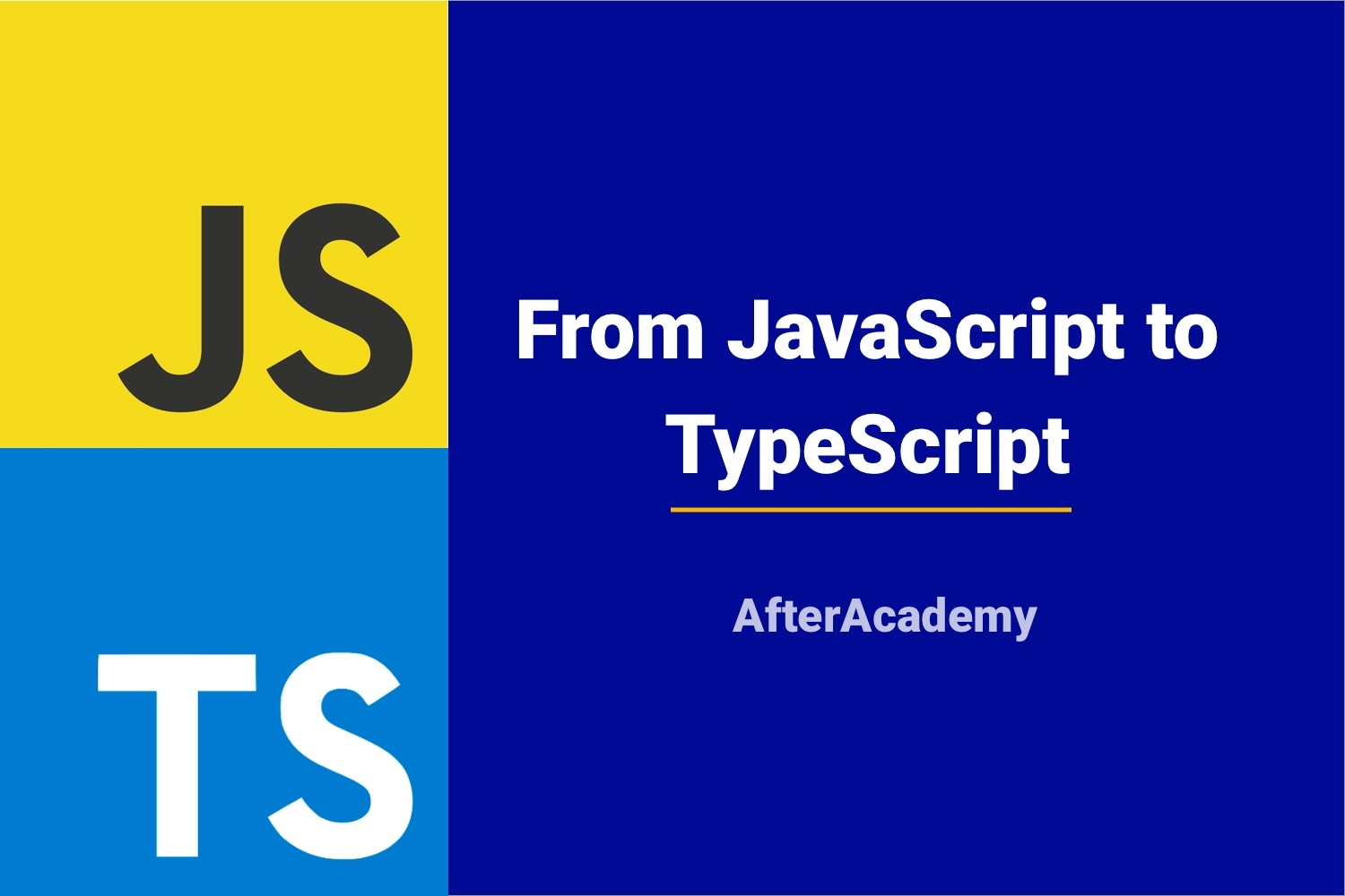 From JavaScript to TypeScript