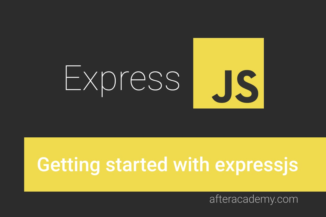 Getting started with Express.js