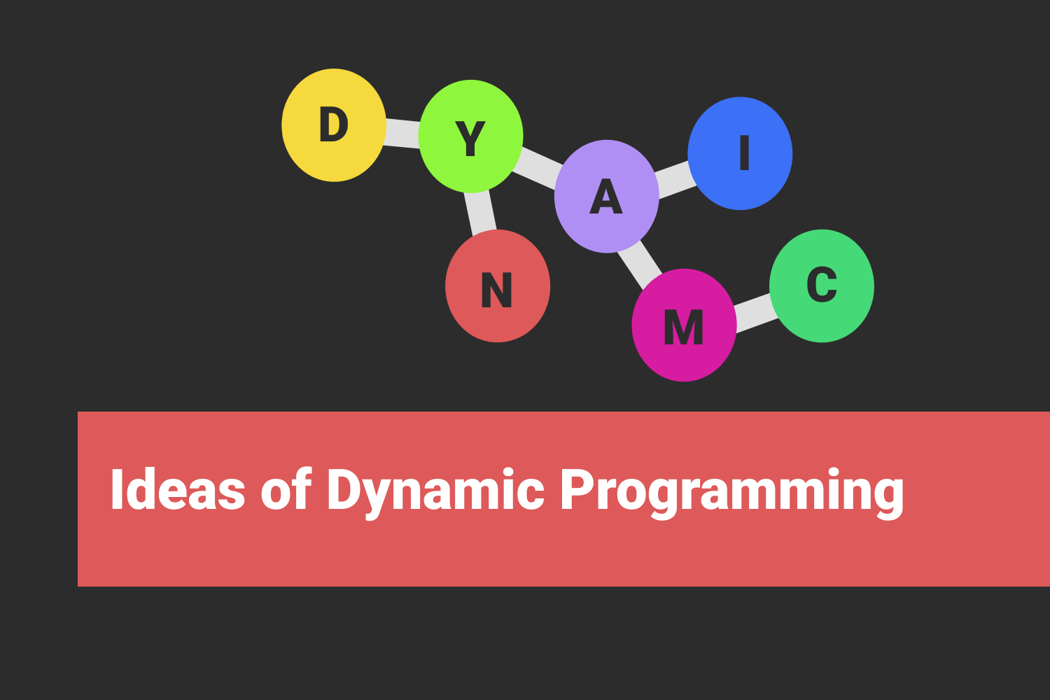 Idea of Dynamic Programming