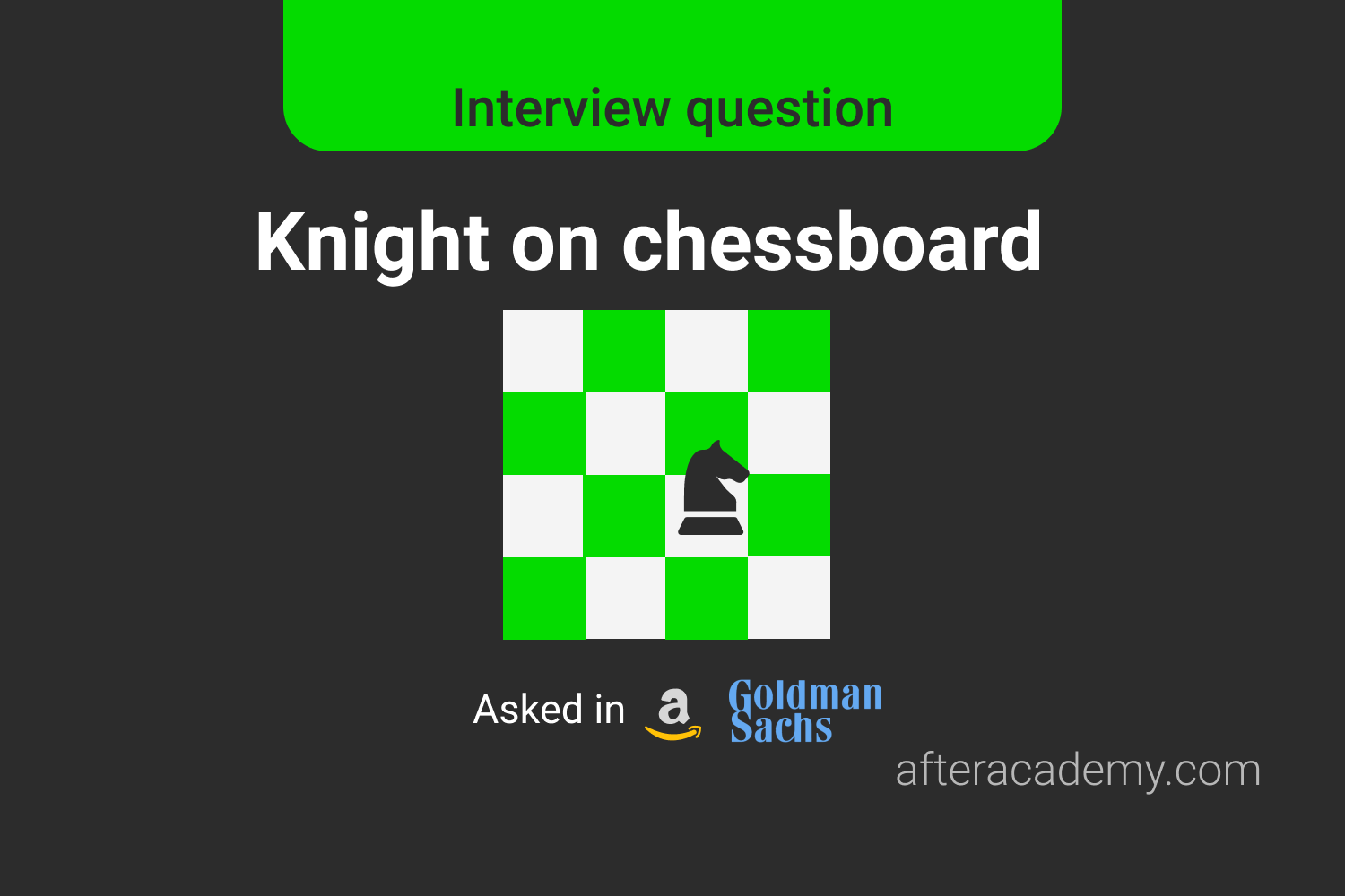 Knight on chessboard